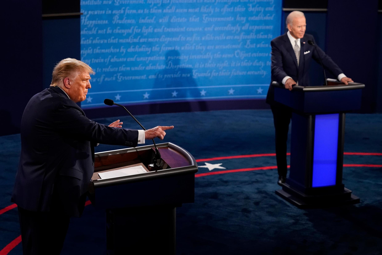 """Trump acusó a Biden de ser """"socialista"""", pero el candidato demócrata desestimó sus ataques afirmando que """"todo el mundo sabe"""" que Trump """"es un mentiroso""""."""