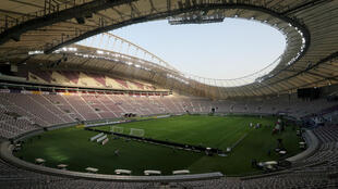 Le Khalifa International Stadium de Doha.