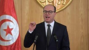 Le chef de gouvernement tunisien désigné Elyes Fakhfakh a présenté la liste de son gouvernement. .