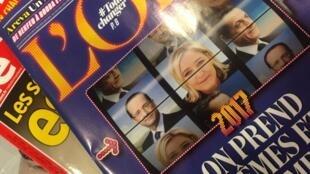 Os resultados das eleições regionais dominam as revistas semanais na França.