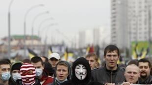 «Русский марш», Москва, 4 ноября 201