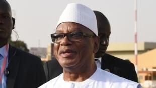 Rais wa Mali Ibrahim Boubacar Keïta.