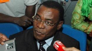 Pascal Affi Nguessan, opposant ivoirien.