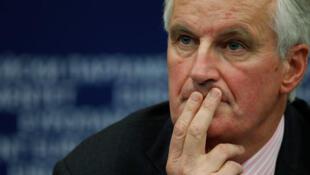 Michel Barnier, commissaire européen chargé des marchés financiers.