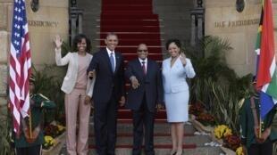 Ziyarar Shugaban Amurka Barack Obama a kasar Afrika ta Kudu.