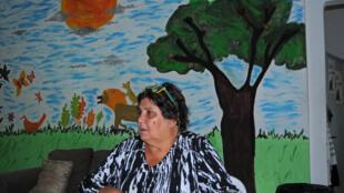 L'association Eutopia réunit des dizaines de mères-courage : Assunta (photo), 59 ans, assistante à domicile pour des adultes handicapés est un pilier du groupe.