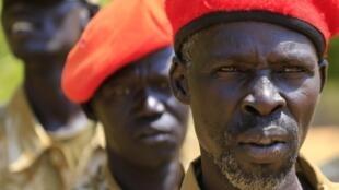 Sojojin gwamnatin Sudan ta Kudu.