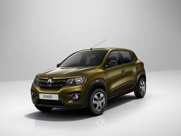 The Kwid, the new Renault budget car .
