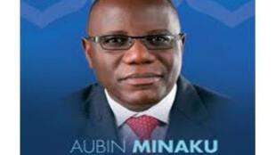 Aubin Minaku, président de l'Assemblée nationale congolaise.