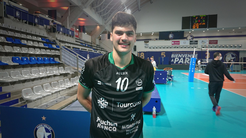 Lourenço Martins, atleta português do Tourcoing.