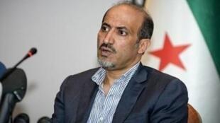 Ahmad Djarba, presidente da Coalizão da Oposição síria.