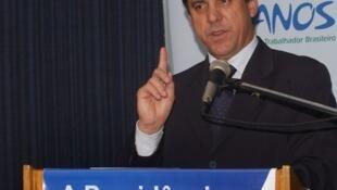 O prefeito de São Bernardo do Campo, Luiz Marinho.