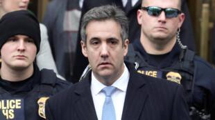 Michael Cohen, à la sortie du tribunal de New York, le 12 décembre 2018.