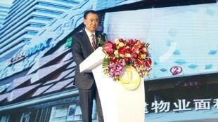 Tỷ phú Vương Kiến Lâm, ông chủ của Wanda Group, giàu có hàng đầu Trung Quốc. Ảnh chụp ngày 12/01/2016.