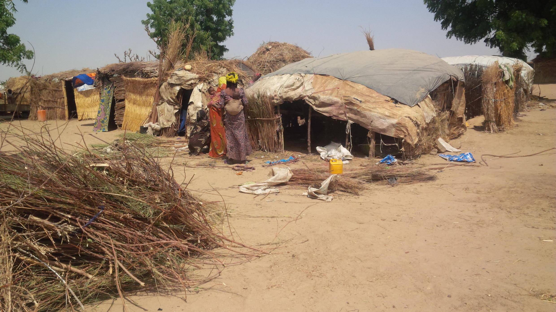 Yan gudun hijirar Boko Haram sun yi kansu matsuguni a Sansanin Muna