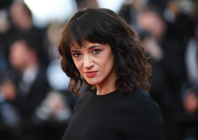 A atriz Asia Argento, em Cannes, em 19 de maio de 2018.