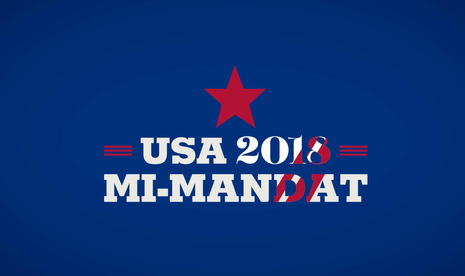 Élections de mi-mandat aux États-Unis.