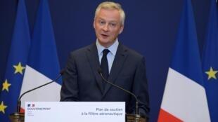 برونو لومر، وزیر اقتصاد و دارایی فرانسه، نسبت به آغاز موج بیکاری صدها هزار نفر در فرانسه هشدار داد
