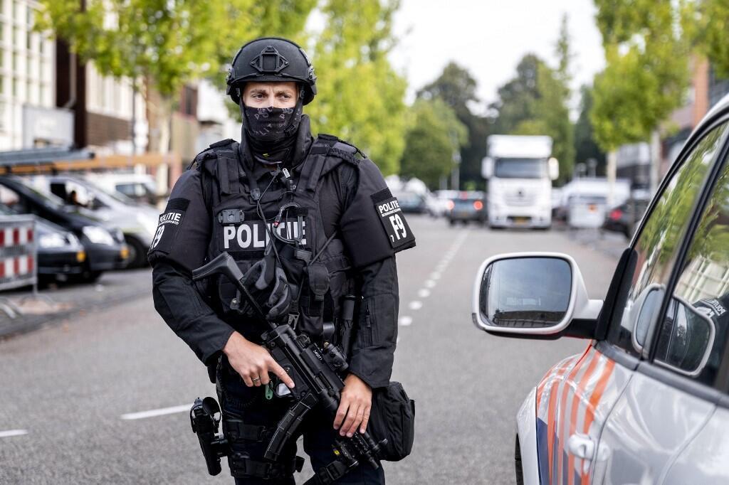 pays bas police policier