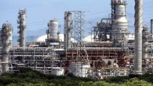 Raffinerie de pétrole de Puerto La Cruz, au Venezuela.