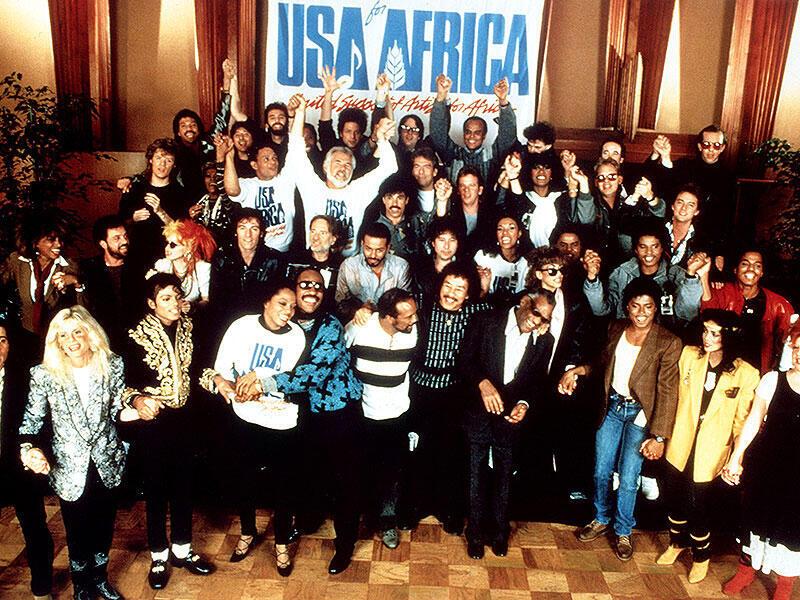 """Historia ya wimbo """"We are the world"""", uliotoka March 7 Mwaka 1985"""