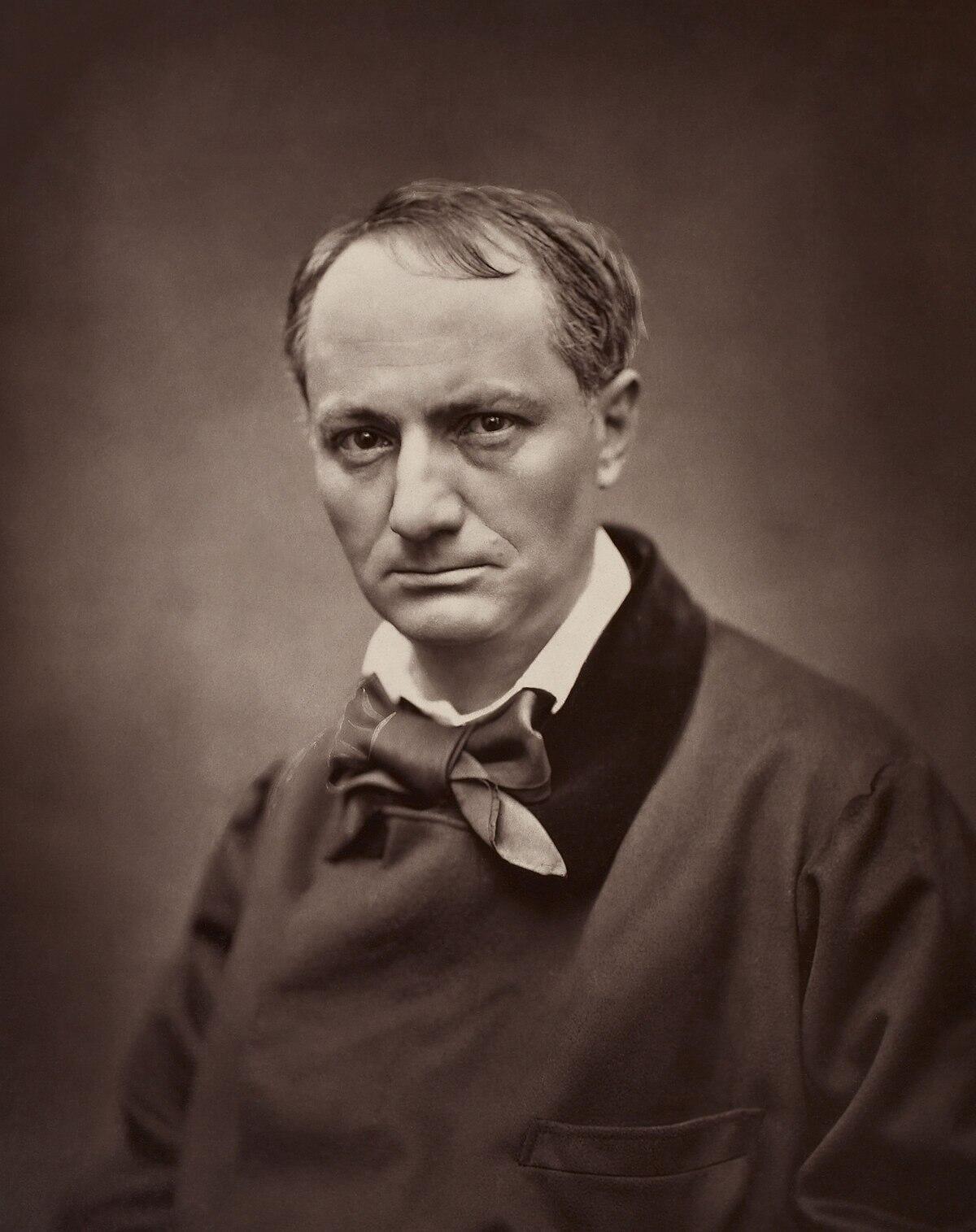 Charles Baudelaire par Étienne Carjat, en 1862.