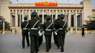 中共19大全代会在北京人民大会堂举行2017年10月22日