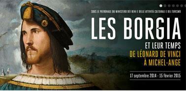 Visuel de l'exposition Borgia au Musée Maillol.