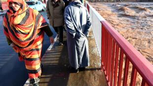 Aït Melloul, dans la région d'Agadir, a été touchée par des crues subites.