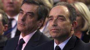 Fillon (L) Copé (R) agree a deal