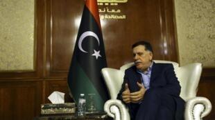 Waziri Mkuu wa Libya Fayez al-Sarraj  amnyooshea kidole cha lawama Marshal Khalifa Haftar.