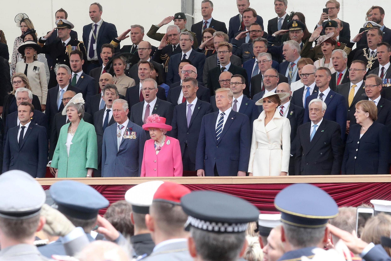 Памятная церемония в британском Портсмуте по случаю 75-летия высадки союзных войск в Нормандии