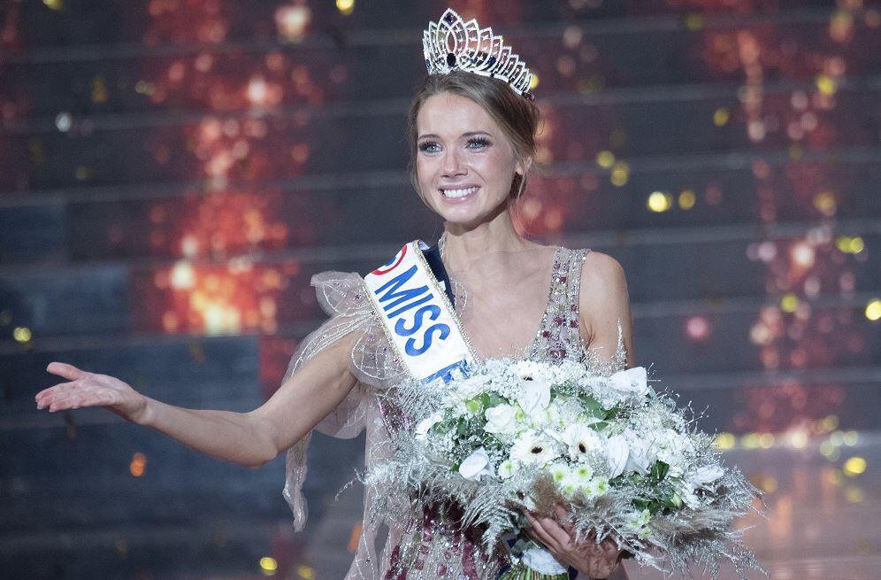 Amandine Pétit foi eleita a Miss França 2021.