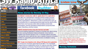 SW Radio Africa broadcasts on short and medium wave and online.