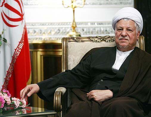 اکبر هاشمی رفسنجانی، رییس مجمع تشخیص مصلحت نظام