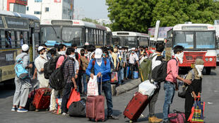 Millions of workers have been stranded in India's densely populated cities