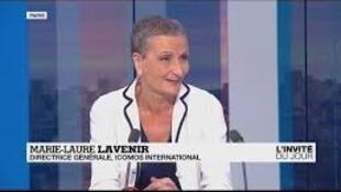 Marie-Laure Lavenir, ICOMOS INTERNATIONAL文化遺產委員會執行董事