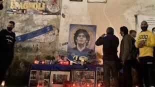 Hommage de Naple à Maradona