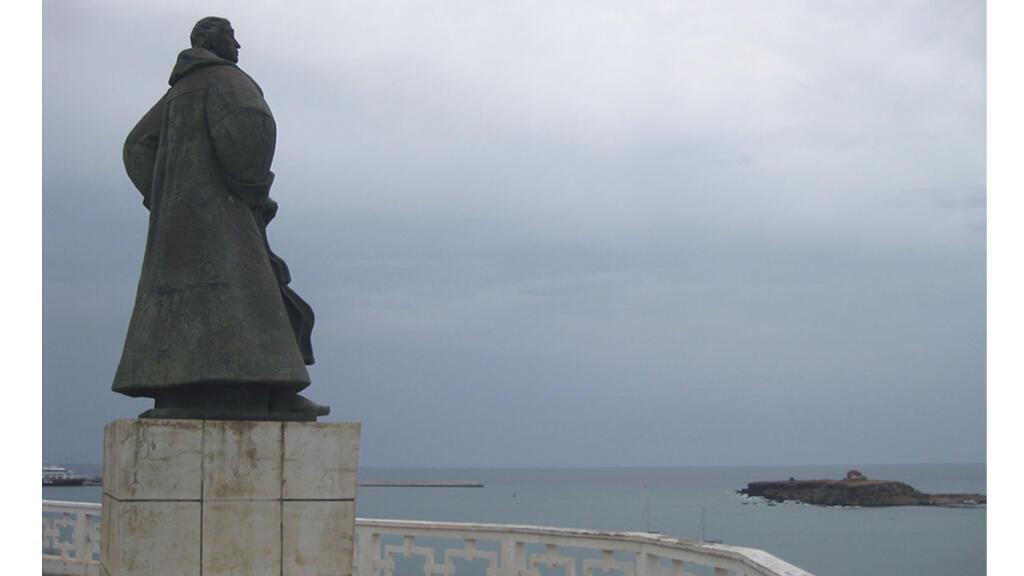 Statue de Diogo Gomes, Praia, Cap Vert.