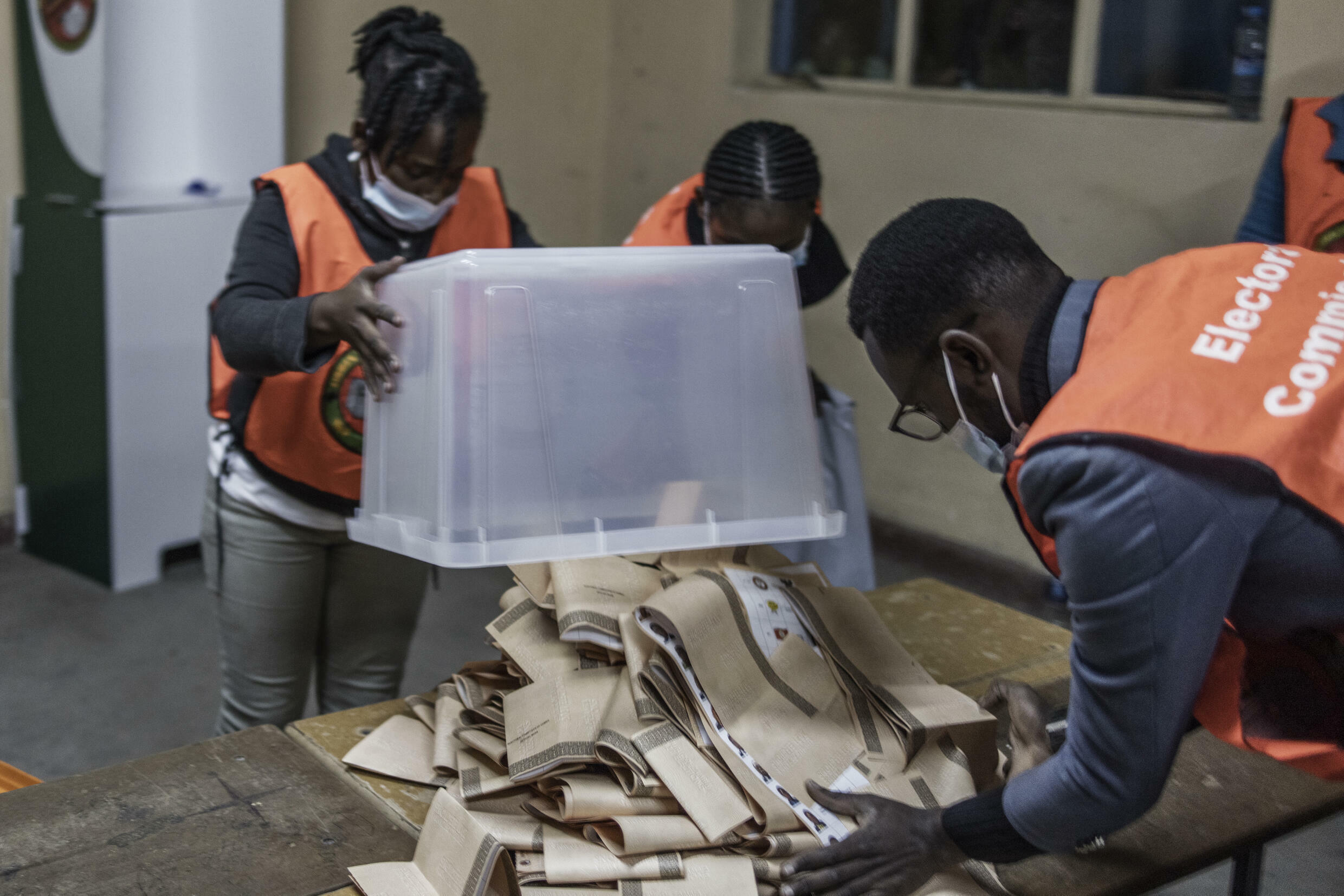 Zambia is counting votes after a tightly contested general election