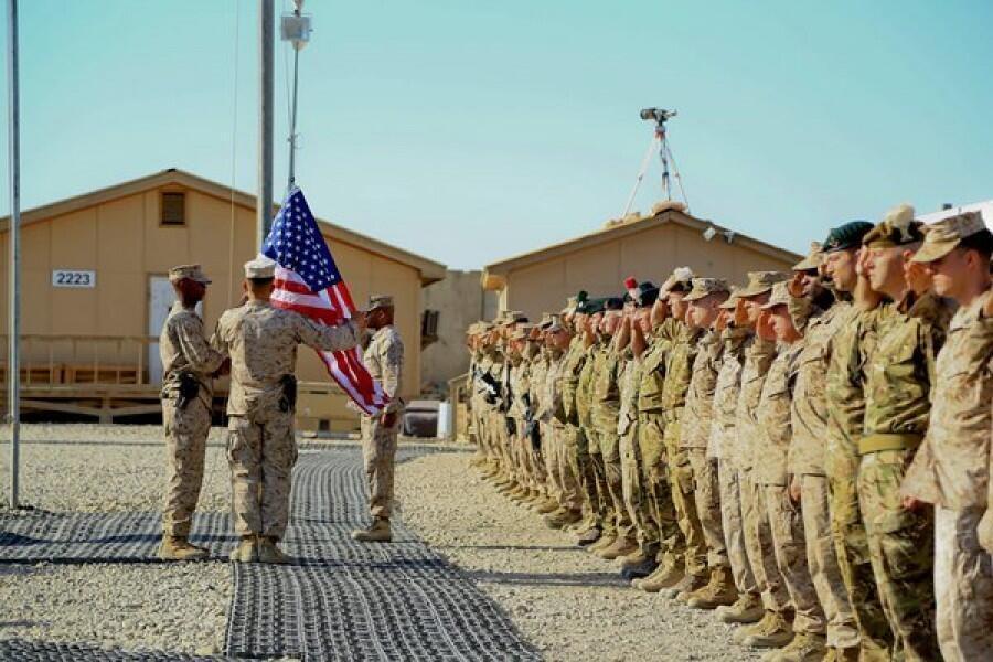 ائتلاف جهانی علیه داعش به رهبری آمریکا در خاک عراق عملیات نظامی خود را به حال تعلیق درآورد.