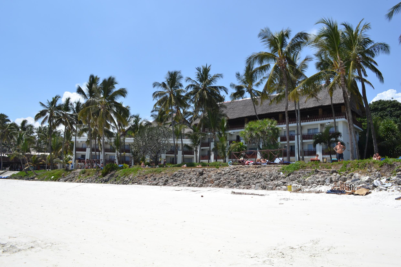 Voyager Beach Resort at Nyali Beach in Mombasa, Kenya.