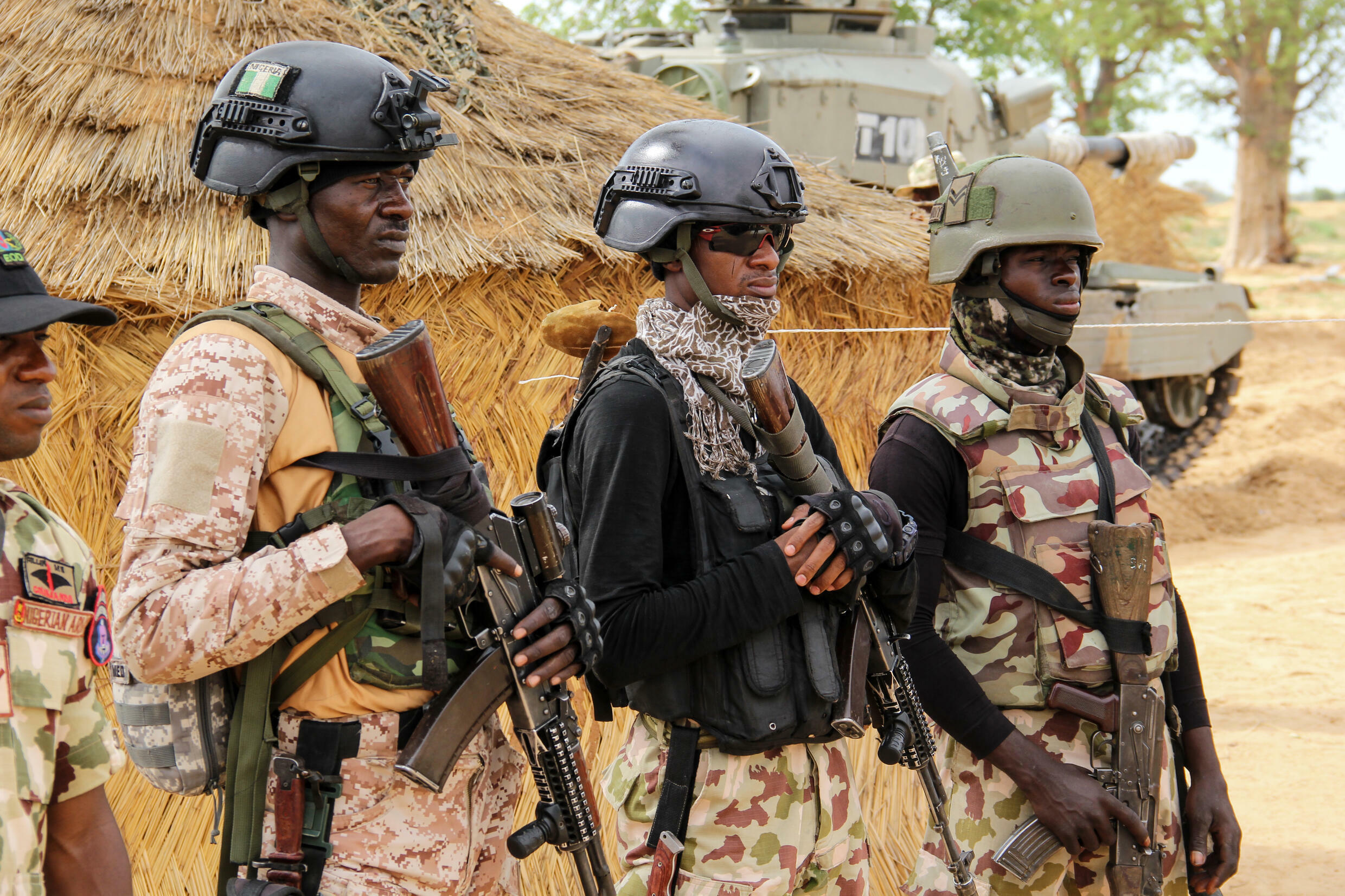 Nigeria's armed forces are struggling with a jihadist insurgency, as well as ethnic unrest and brutal attacks by criminal gangs