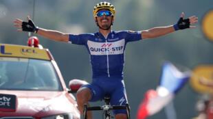 Se trata de la primera victoria en el Tour de Francia de Julian Alaphilippe.