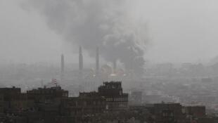عربستان مواضع حوثیها در صنعا را بمباران کرد