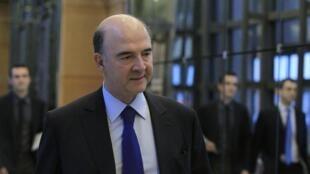 O ministro francês das Finanças, Pierre Moscovici.