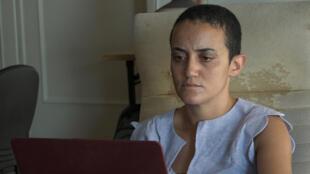 Lina Attalah, cofondatrice et rédactrice en chef de Mada Masr, le dernier média indépendant d'Égypte.
