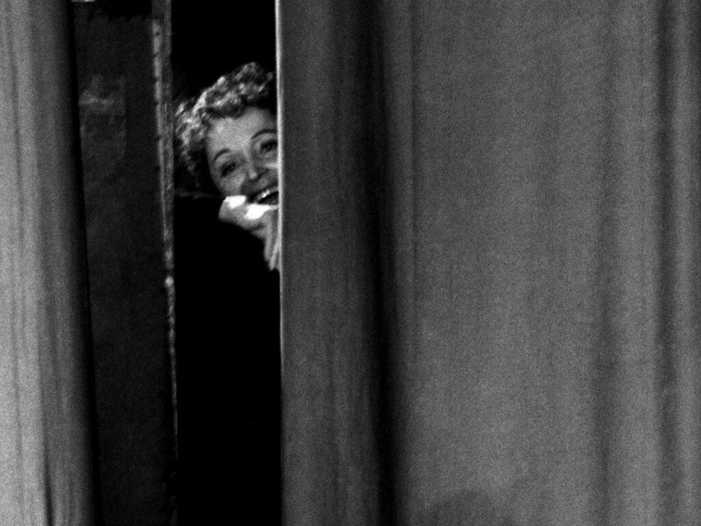 Édith Piaf, no Olympia, em 1959, Paris.