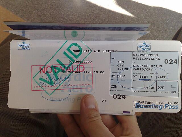 Une simple erreur d'ortographe sur le nom peut coûter au voyageur entre 35 et 150 euros.