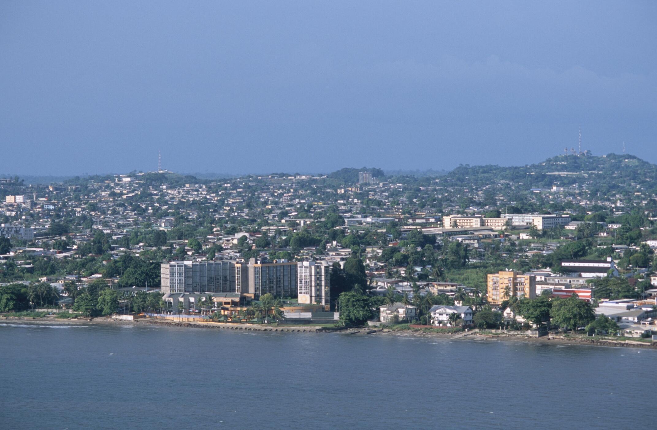 Libreville - capitale du Gabon.